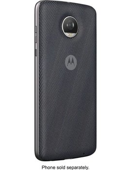Moto Style Shell Case With Wireless Charging For Motorola Moto Z Family Cell Phones by Motorola