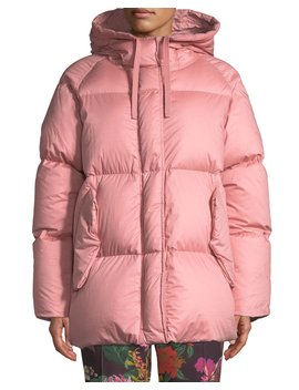 Nerium Hooded Puffer Jacket by Moncler