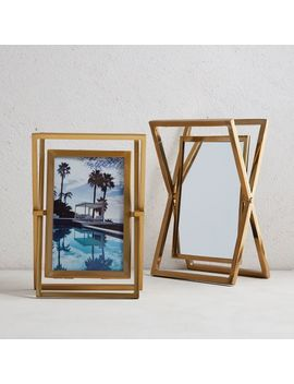 Roar + Rabbit™ Swivel Mirror Frame by West Elm