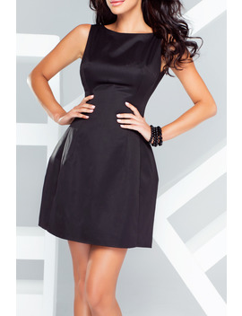 Horizon Dress In Black by General