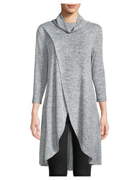 Cowl Neck Wrapped Tunic by Neiman Marcus