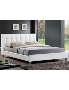 Vino Designer Bed With Upholstered Headboard by Bed Bath And Beyond