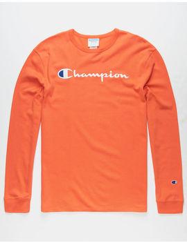 Champion Heritage Papaya Mens T Shirt by Champion