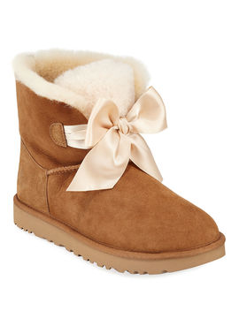 Gita Bow Mini Boots by Ugg Australia