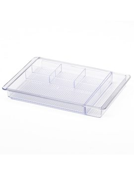 Inter Design Clarity Expandable Drawer Organizer by Kohl's