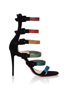 Raynibo Suede Sandals by Christian Louboutin