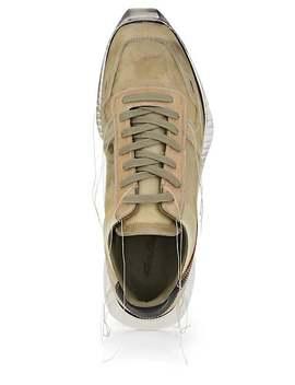 Men's Vintage Runner Leather & Suede Sneakers by Rick Owens