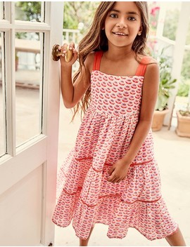 Twirly Tiered Dress by Boden