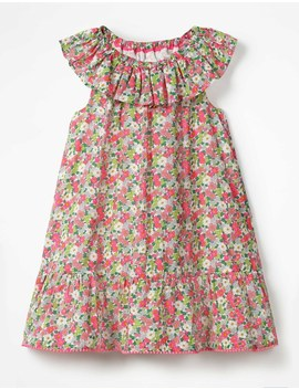 Ruffle Neck Dress by Boden