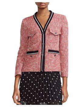 Vivor Tweed Jacket by Maje