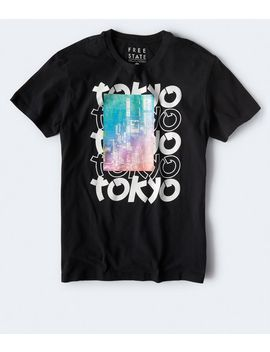 Free State Tokyo Graphic Tee by Aeropostale