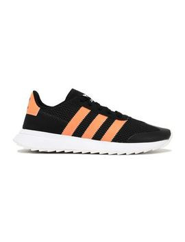 Leather And Suede Trimmed Knitted Sneakers by Adidas Originals