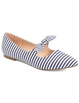 Journee Collection Women's Martina Flat by Journee Collection