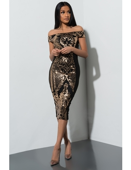 If I Cant Have You Midi Dress by Akira
