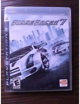 Ridge Racer 7 (Sony Playstation 3 Ps3) Complete by Ebay Seller