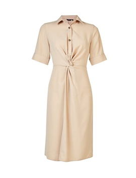 **Stone Knot Front Dress by Dorothy Perkins