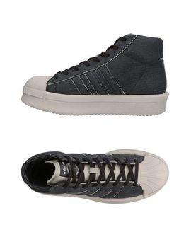 Rick Owens X Adidas КЕДЫ И КРОССОВКИ   Обувь by Rick Owens X Adidas