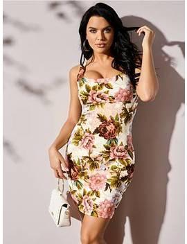 Chantel Floral Print Dress by Guess