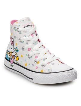 Girls' Converse Hello Kitty® Chuck Taylor All Star High Top Shoes by Girls' Converse Hello Kitty