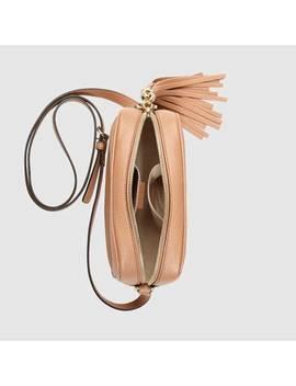 حقيبة الديسكو سوهو مصنوعة من الجلد by Gucci