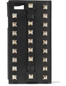 Studded Leather I Phone 6 Case by Valentino Garavani
