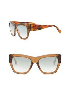 56mm Square Sunglasses by Balenciaga