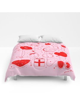 Be My Valentine Comforters by