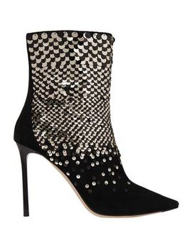 Embellished Suede Ankle Boots by Jimmy Choo