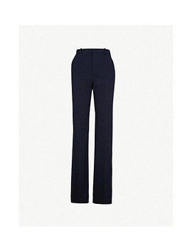 New Tropez Wide Leg Woven Trousers by Joseph