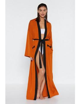 So Long Cover Up Kimono by Nasty Gal