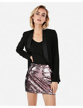 Two Way Sequin Mini Skirt by Express