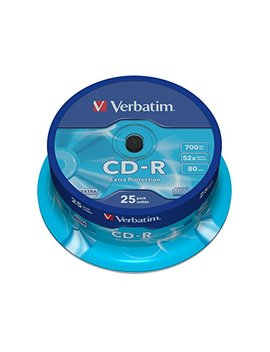 Verbatim Cd R 80 700 Mb   Confezione Da 25 by Verbatim