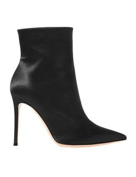 Arles 100 Satin Ankle Boots by Gianvito Rossi