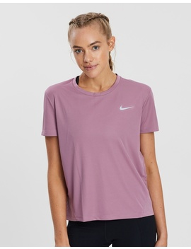 Miler Short Sleeve Running Top   Women's by Nike