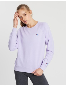 Logo Crew Neck Jumper by Champion
