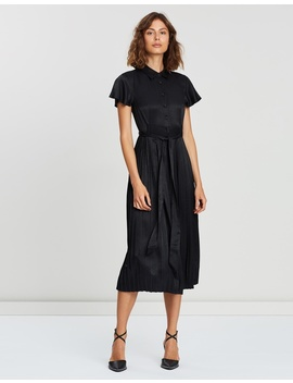 Iconic Exclusive   Camilla Pleated Dress by Atmos&Here
