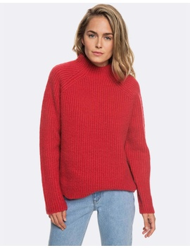 Womens Casual Lifestyle Mock Neck Knit Jumper by Roxy