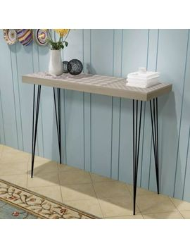 Stylish Design Console Table Side Table Telephone Stand Sideboard 90x30x71.5 Cm by Ebay Seller
