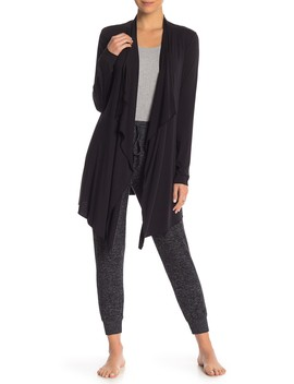 Calypso Drape Collar Cardigan by Barefoot Dreams