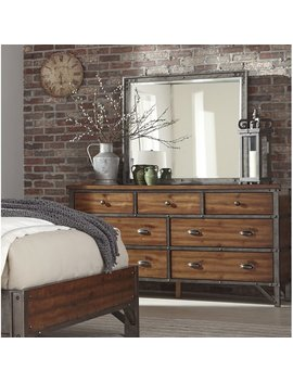 Haverhill 7 Drawer Dresser With Mirror by Williston Forge
