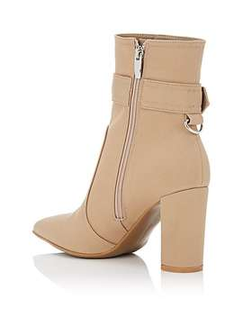 Miller Gabardine Ankle Boots by Gianvito Rossi