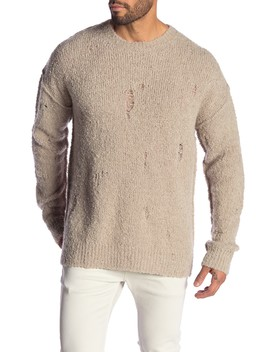 Hannet Oversized Wool Blend Sweater by Allsaints