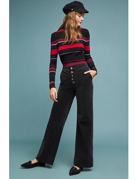Pilcro Ultra High Rise Corduroy Wide Leg Jeans by Pilcro And The Letterpress
