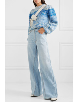 Sheldon High Rise Wide Leg Jeans by Ganni