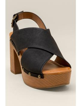 Indigo Rd Dani Platform Heel by Francesca's