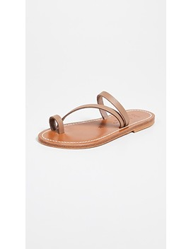 Actium Toe Ring Sandals by K. Jacques