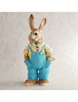 Rufus The Farmer Natural Bunny by Pier1 Imports