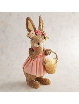 Evie The Easter Parade Natural Bunny by Pier1 Imports