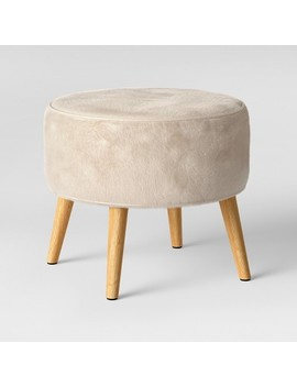 Riverplace Cone Leg Ottoman Furocious Arctic   Project 62™ by Project 62