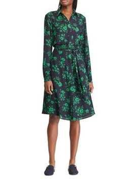 Belted Georgette Shirtdress by Lauren Ralph Lauren